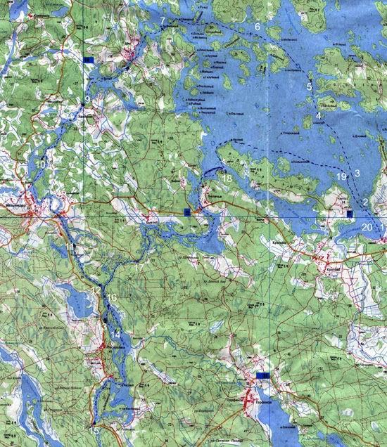 лодочные маршруты