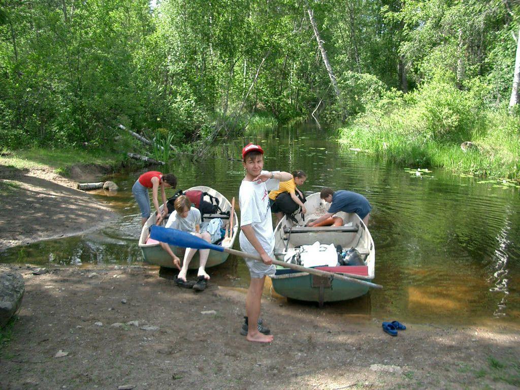 лодочный поход с детьми